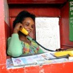 lady on phone | Connect Africa | image