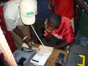 Connecting up rural Africa, bringing communication technology to hundreds of rural people