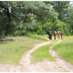 the community walk often long distances to the clinic