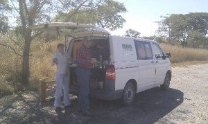 lunch from van | Connect Africa | image