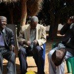 Elders communication via mobile phone