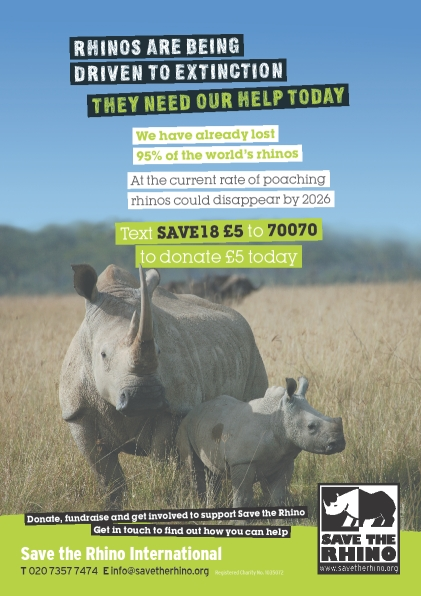 Save Rhino Poster | Connect Africa | image